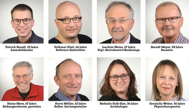 Kandidatenliste Grüne Heinersreuth