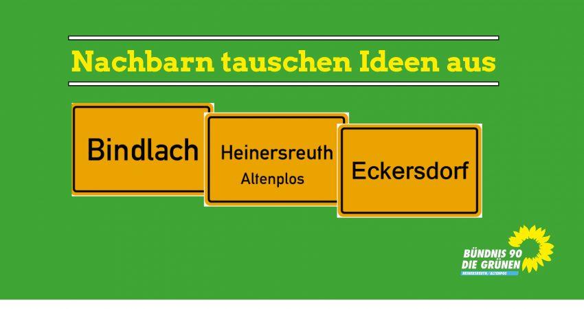 Grüne Heinersreuth im Dialog mit den Nachbargemeinden Bindlach und Eckersdorf