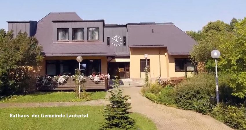 Rathaus der Gemeinde Lautertal