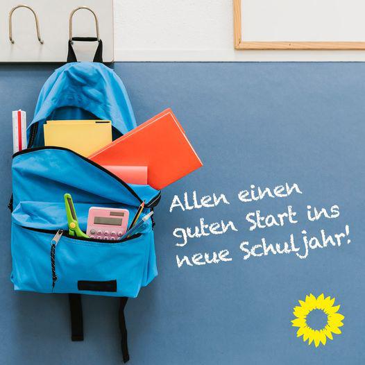 Grüne Heinersreuth wünschen alles Gute zum Schulbeginn