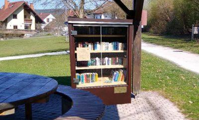 Fotomontage Bücherschranke