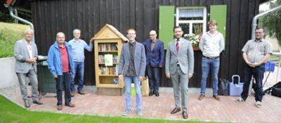 Bücherschrank Altenplos eröffnet