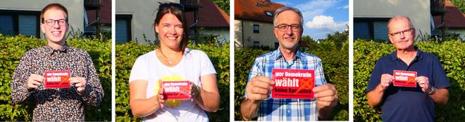 Grüne Heinersreuth gegen Rassismus