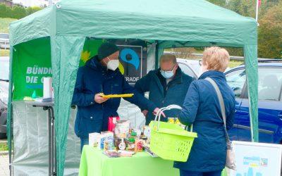 Fairtrade-Infostand in Heinersreuth